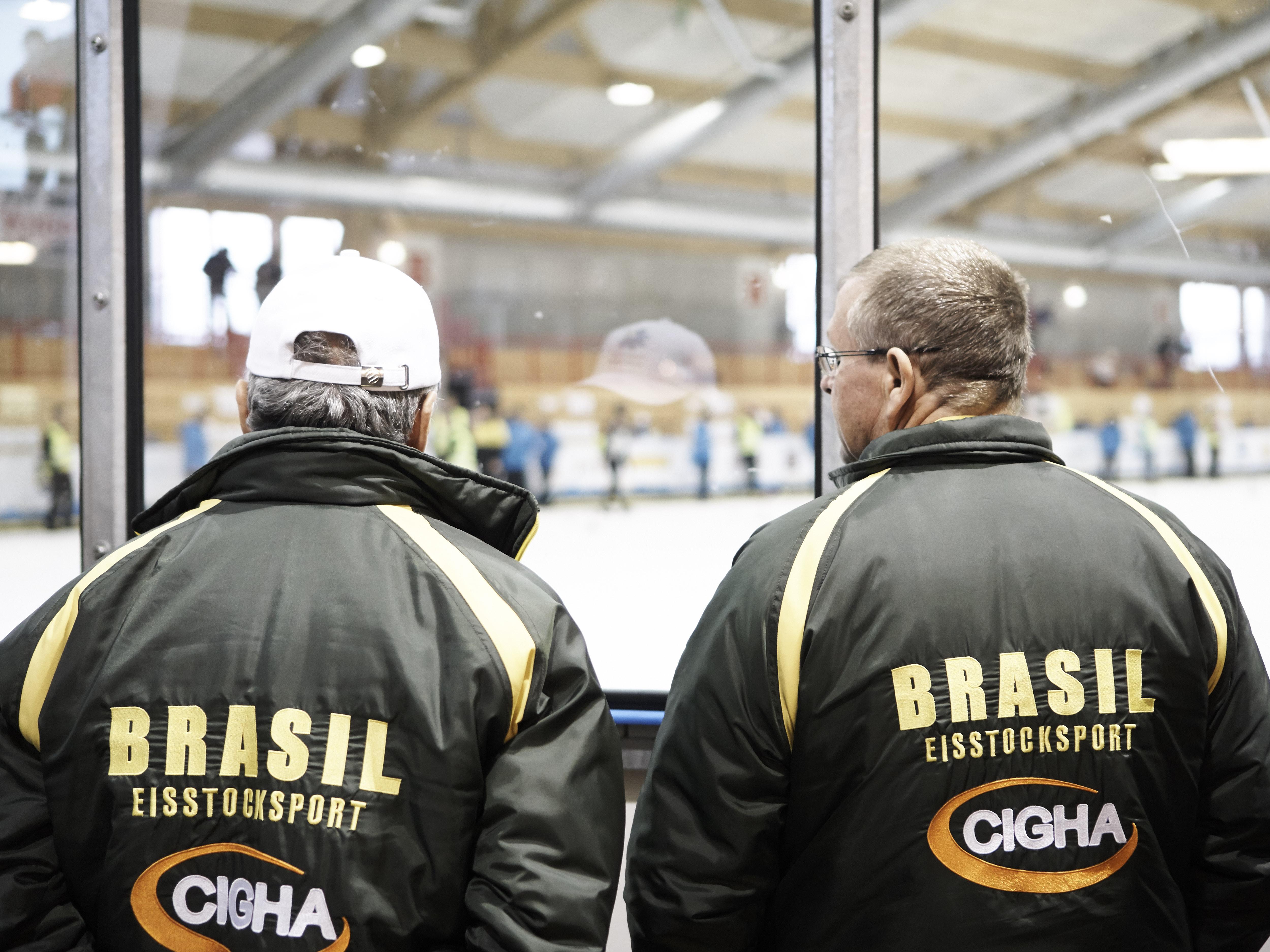 Eisstock WM 2018 Mannschaft Brasilien