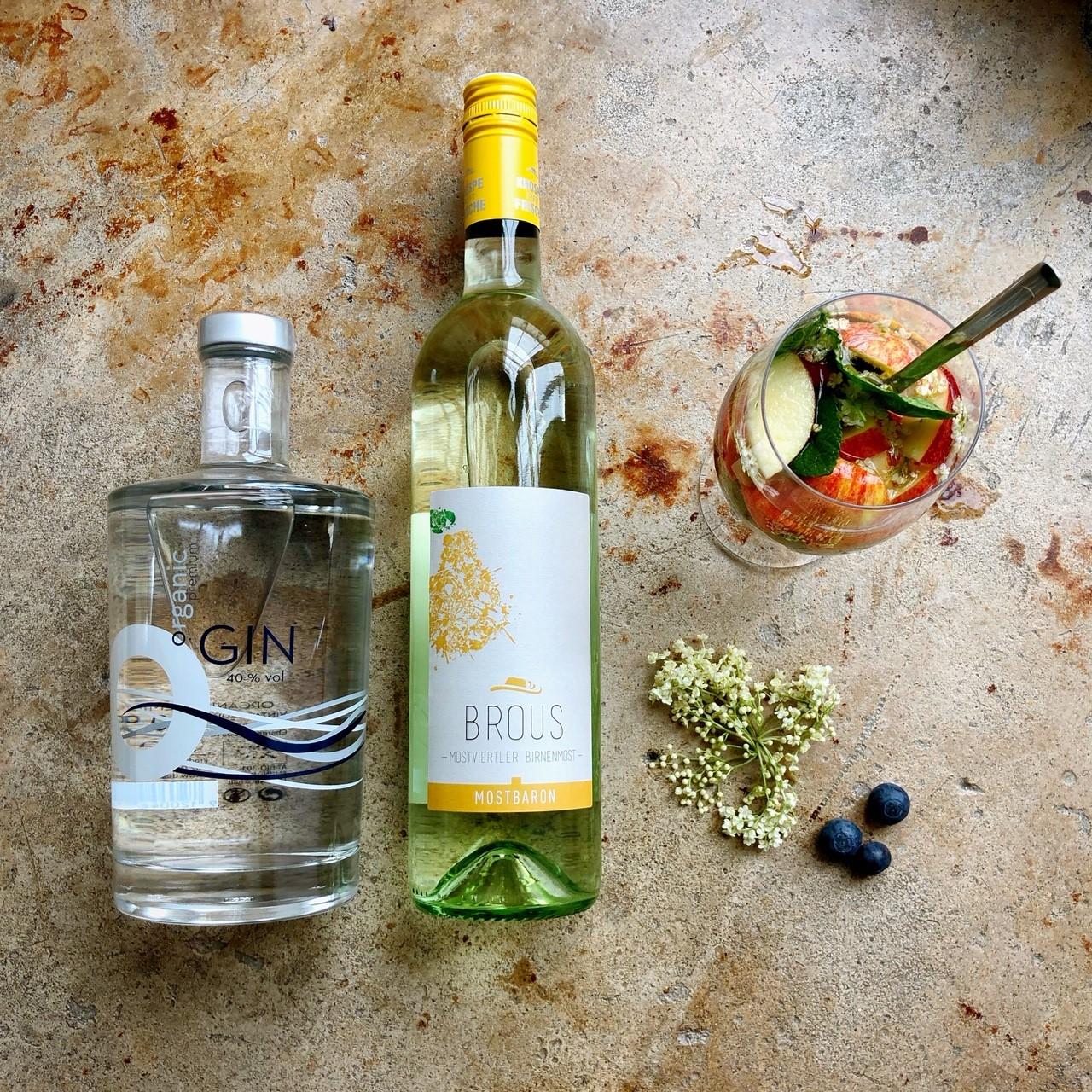 Cocktail Mostviertler Gruß (Destillerie Farthofer)