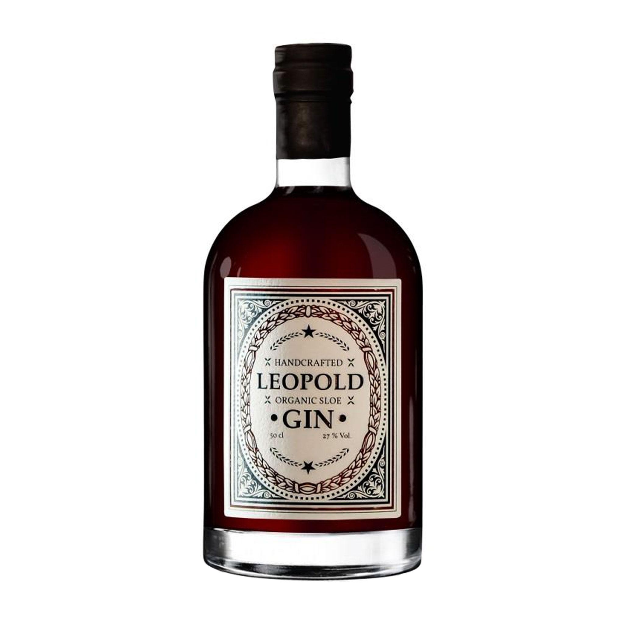 Leopold Organic Sloe Gin (500 ml) - Destillerie Farthofer