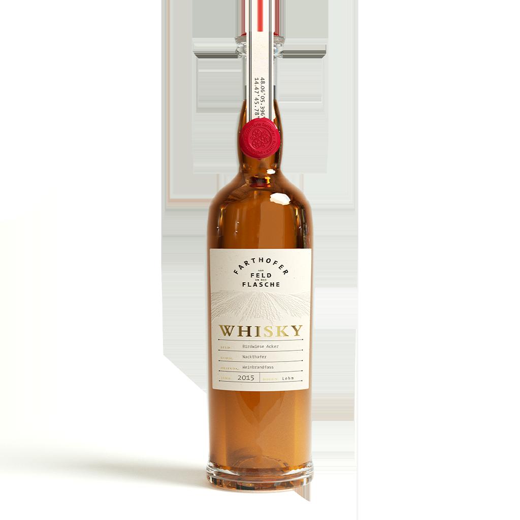Whisky Single Grain Nackthafer 45,7 % - Destillerie Farthofer