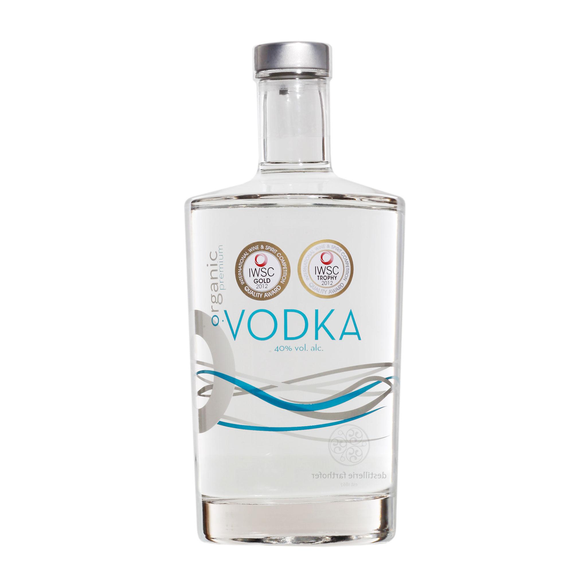 Bio Wodka, O•Vodka, Organic Premium Vodka, weltbester Wodka
