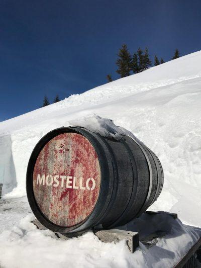 Mostello Fass 40 reift unter extremen Bedingungen im Kleinwalsertal