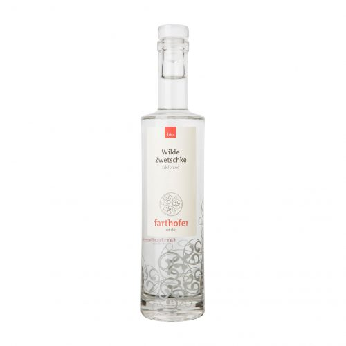 Wilde Zwetschke (700 ml), Bio Edelbrand - Destillerie Farthofer