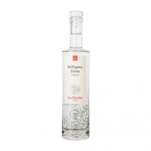 Bio Williamsbirne (700 ml) - Destillerie Farthofer