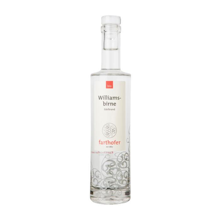 Bio Williamsbirne (700 ml) - Destillerie Farthofer