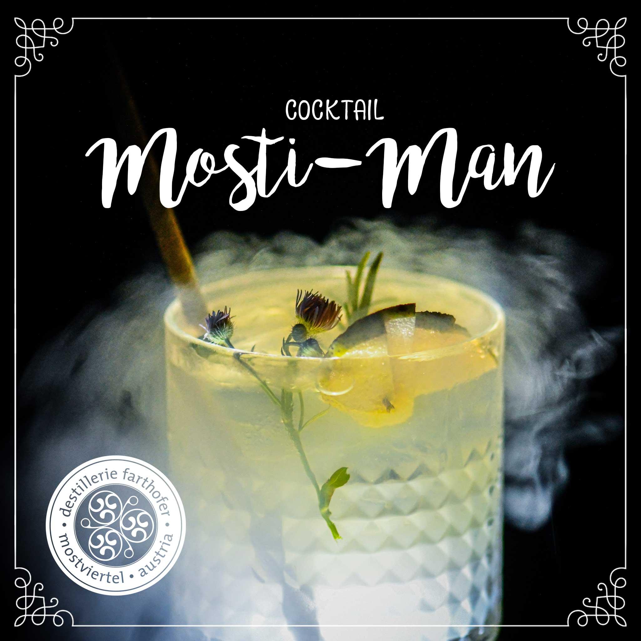 Cocktail Mosti-Man - Destillerie Farthofer