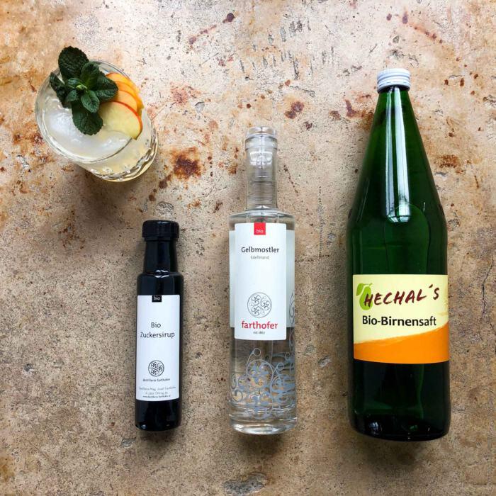 Cocktail Set Mostviertler Gruß (Destillerie Farthofer)