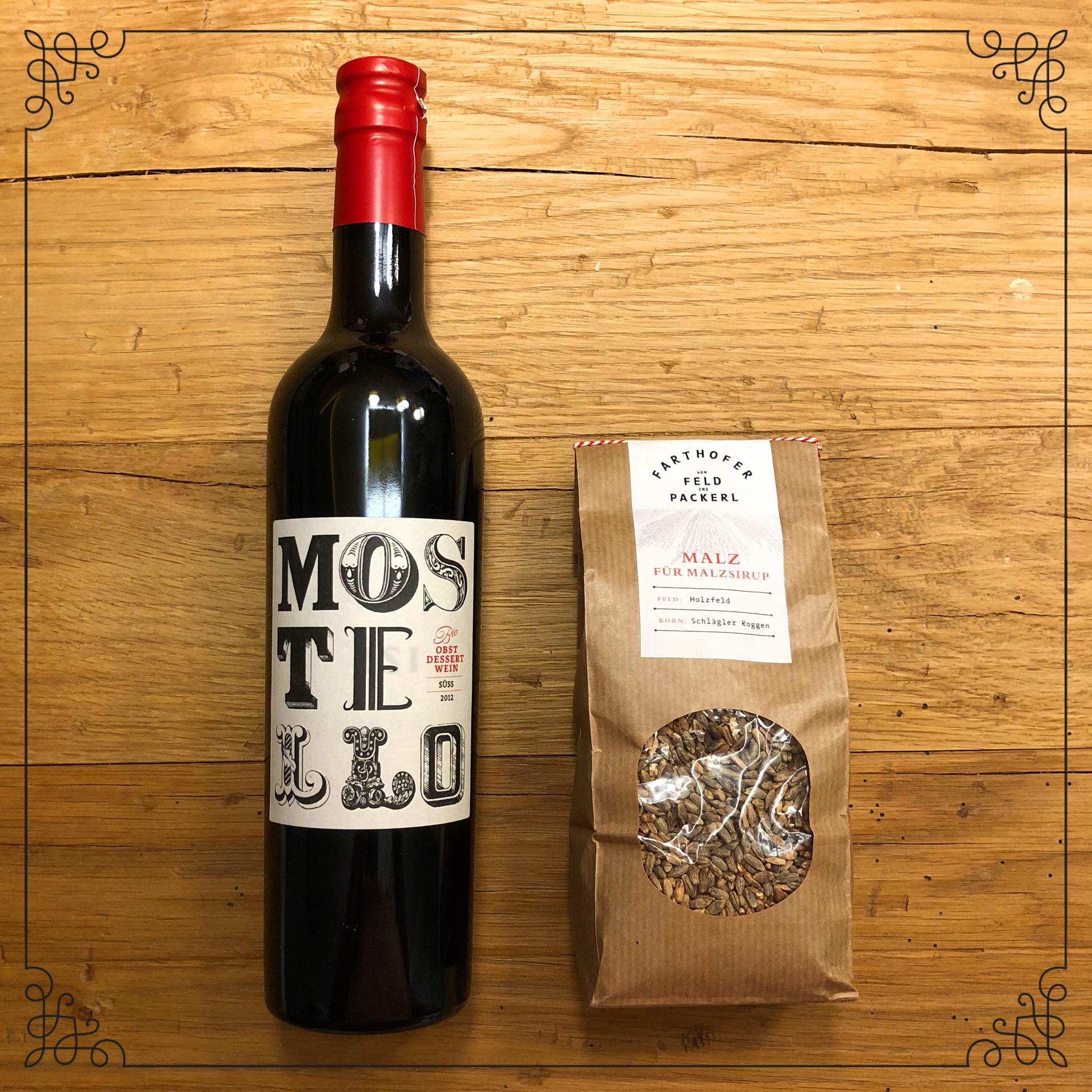 Geschenkset Mostello und Malz - Destillerie Farthofer