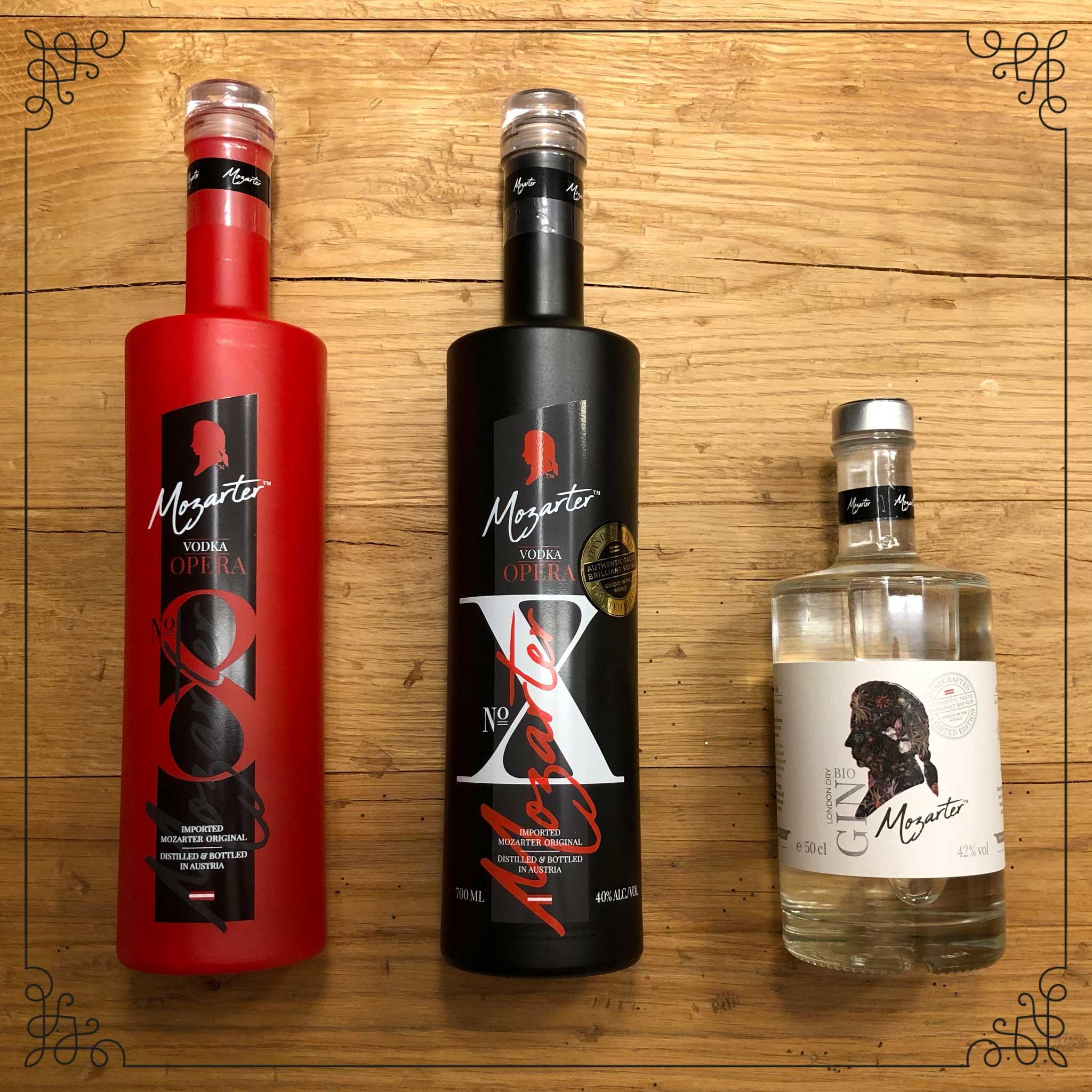 Geschenkset Mozarter drei Meisterwerke - Destillerie Farthofer