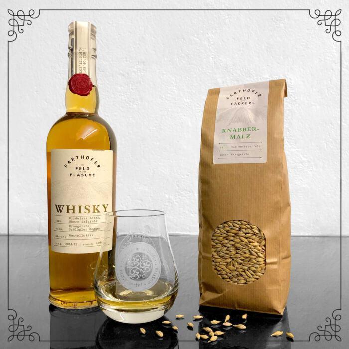 Geschenkset Whisky & Malz - Destillerie Farthofer