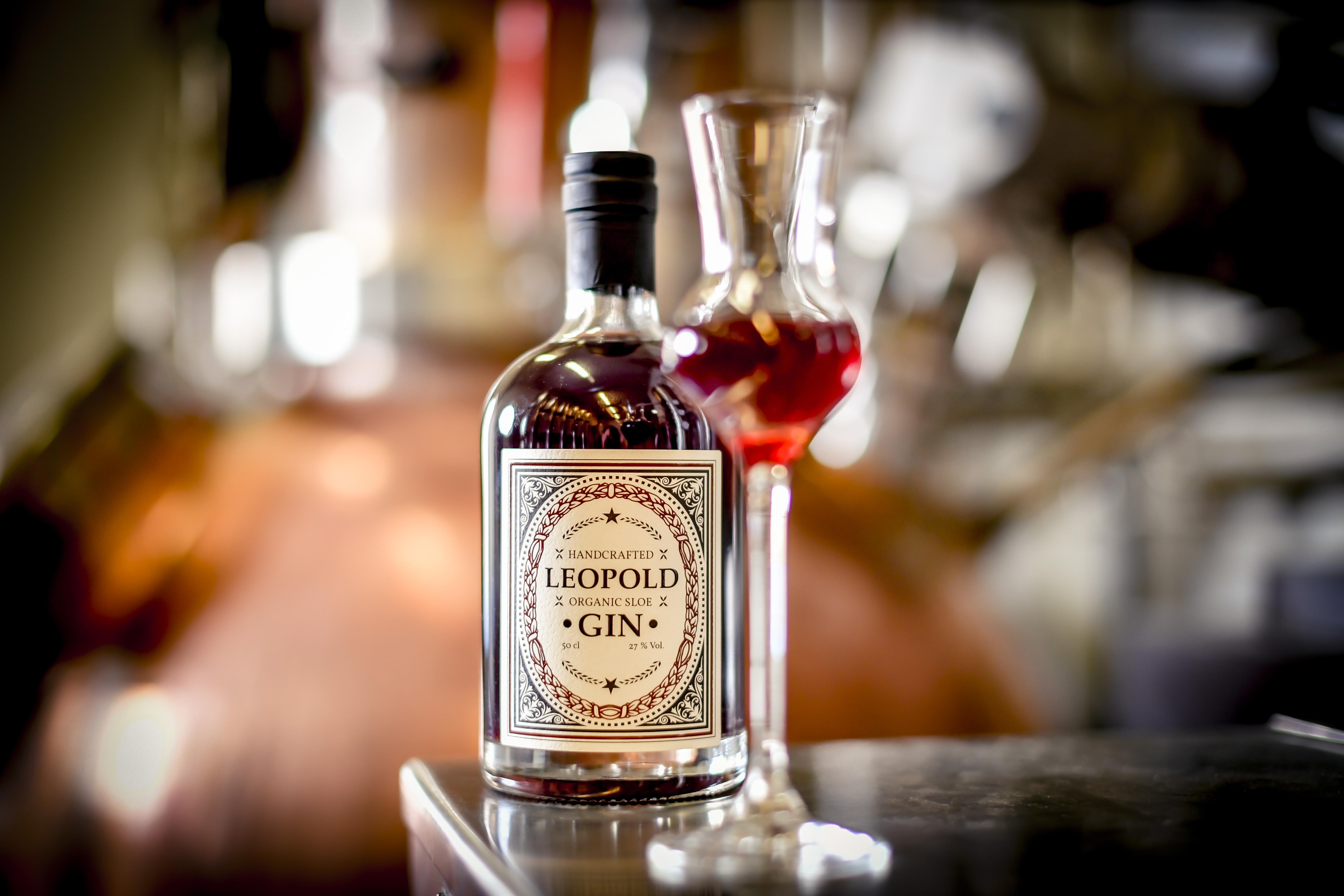 Leopold Organic Sloe Gin