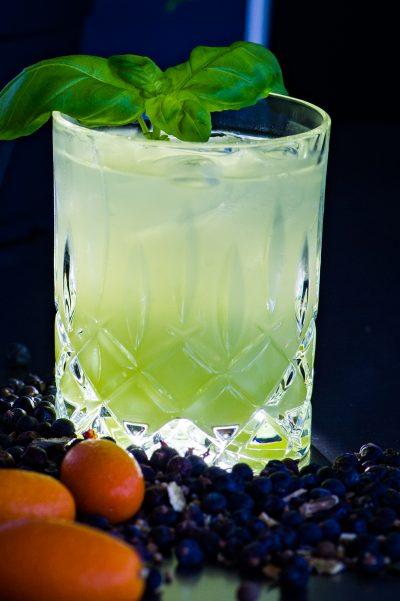 Gin-Basil-Smash
