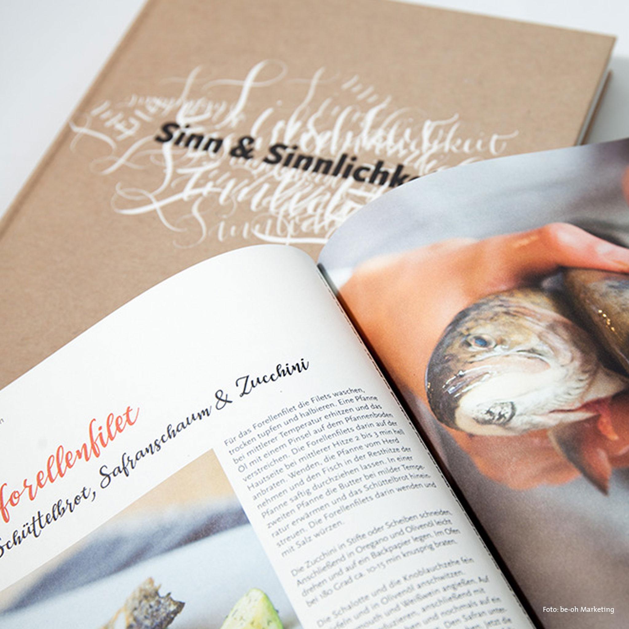 Kochbuch Kochlust PUR III – Sinn und Sinnlichkeit