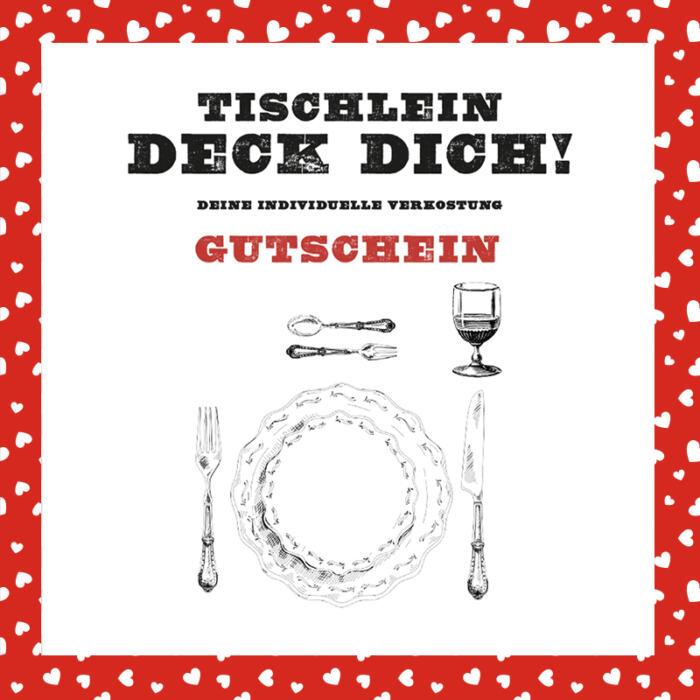 Tischlein deck dich! (Edition Valentintstag)