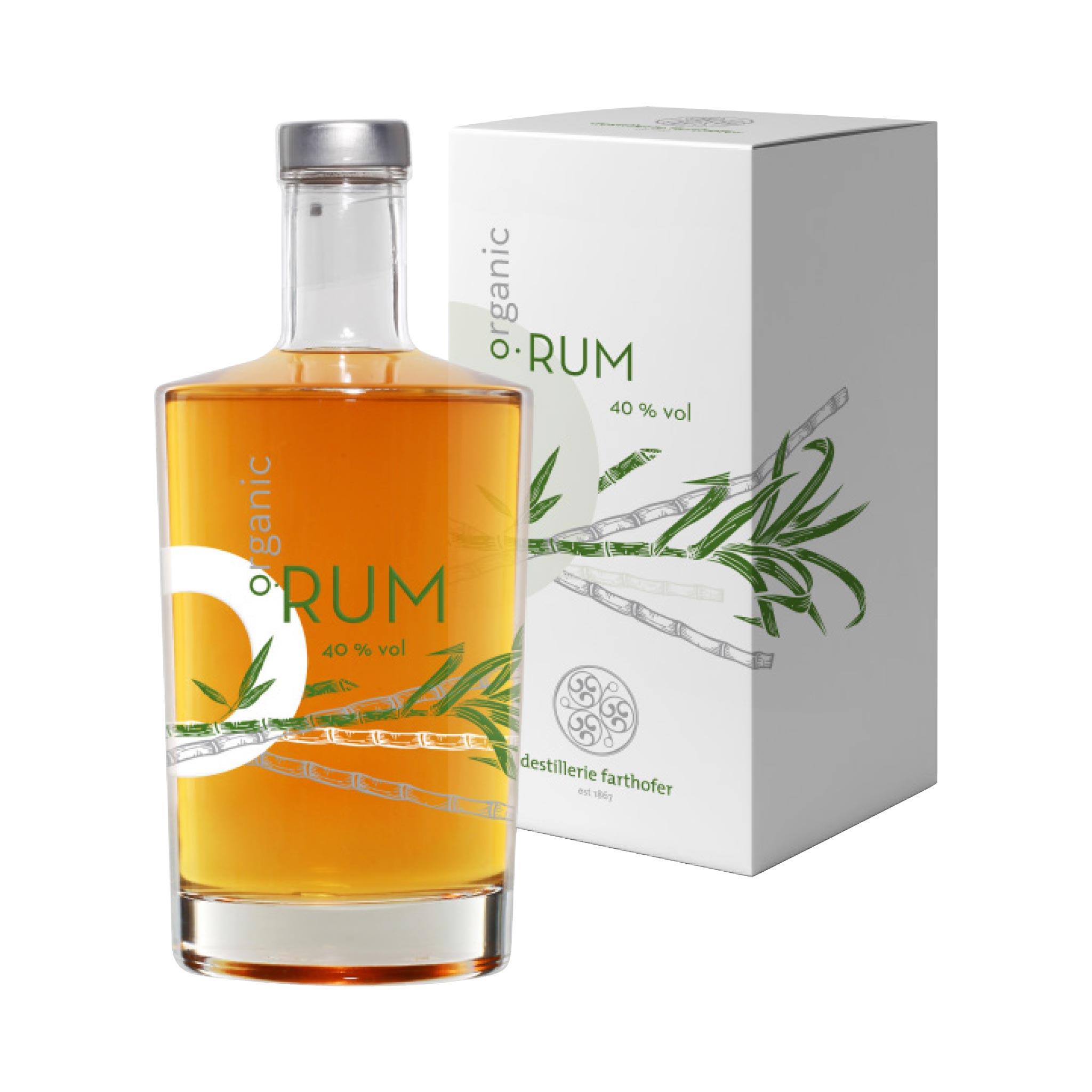O•Rum (Organic Premium Rum) im Geschenkskarton