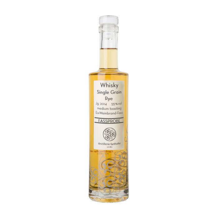 Produktfoto Whisky Schlägler Roggen 2014 Weinbrandfass - Destillerie Farthofer GmbH