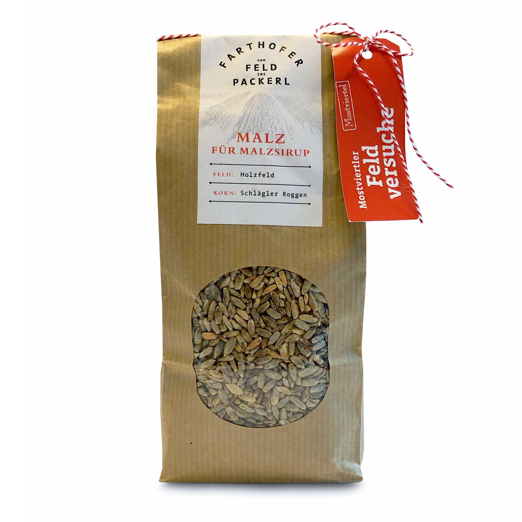 Produkt Malz für Malzsirup - Destillerie Farthofer