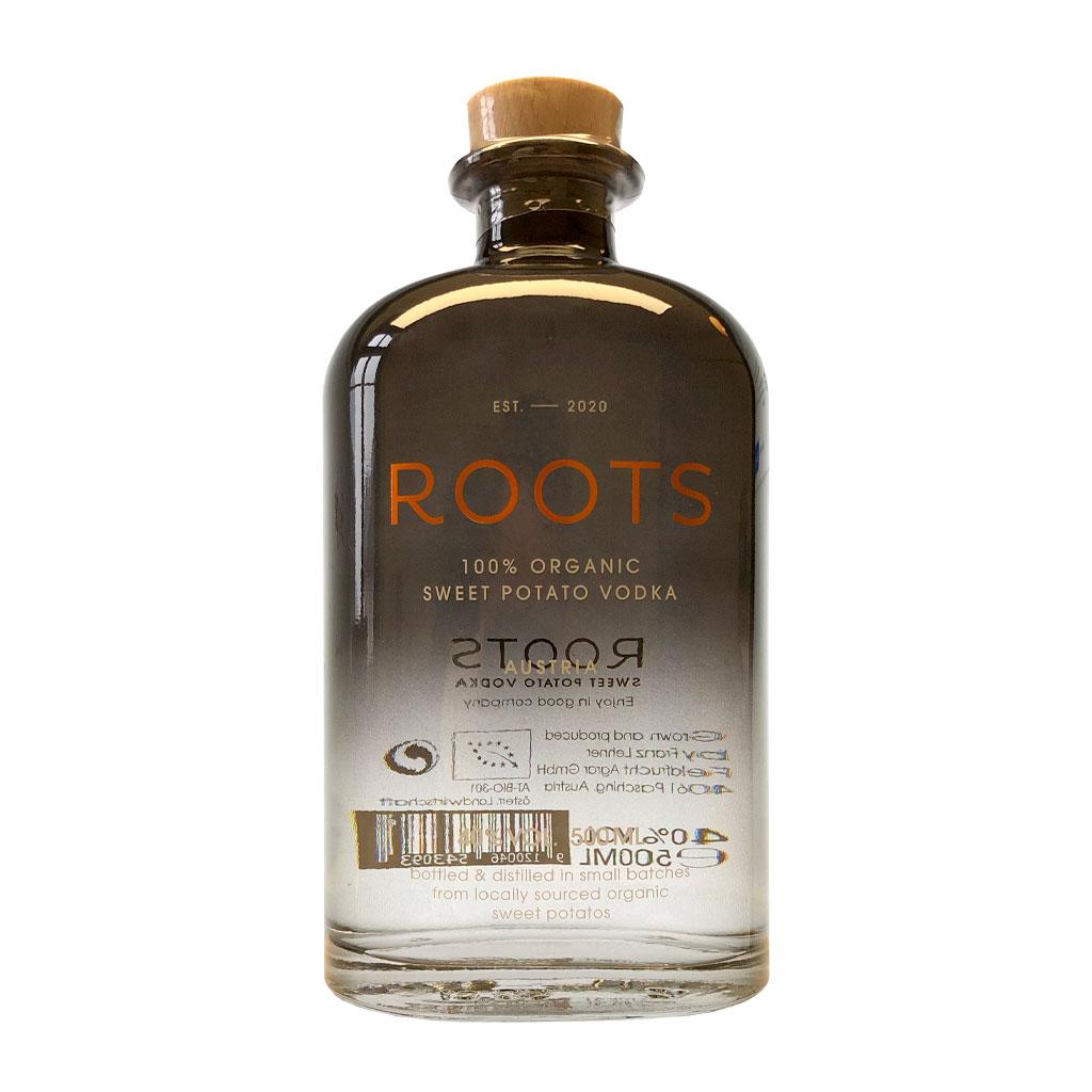 Produktfoto ROOTS Sweet Potato Vodka, Bio Vodka - Destillerie Farthofer
