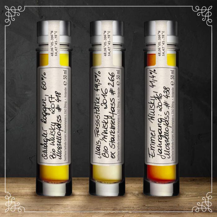 Produktfoto Whisky-Tasting 2021-02 - Destillerie Farthofer