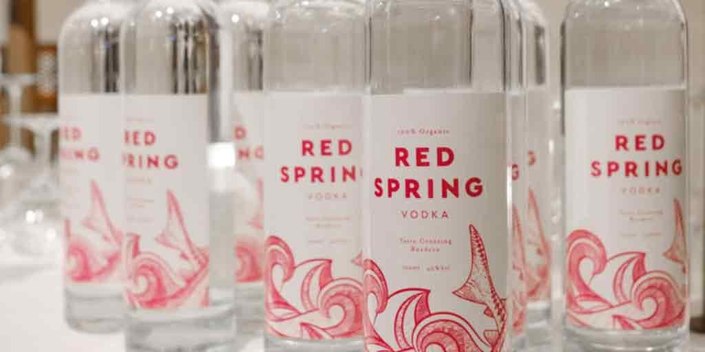 Red Spring – 100 % Organic Vodka