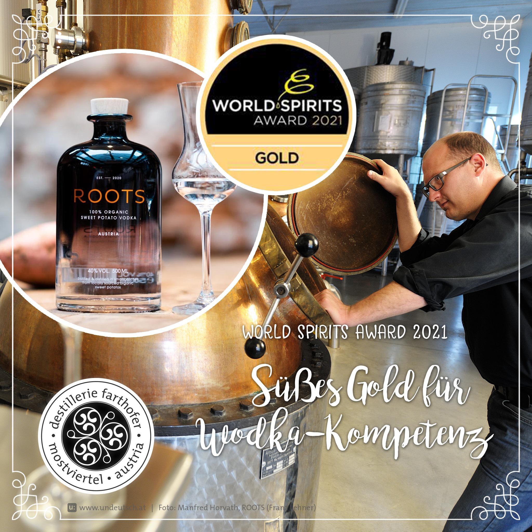 Süßes Gold ROOTS - Destillerie Farthofer