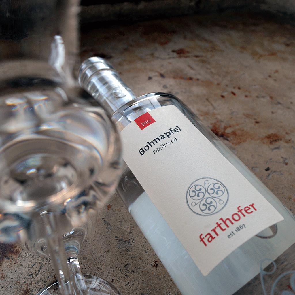 Bohnapfel, Bio Edelbrand (700 ml) - Destillerie Farthofer