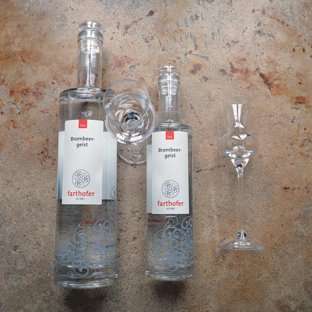 Brombeergeist (700 und 350 ml) - Destillerie Farthofer