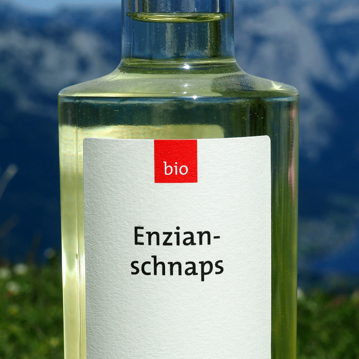 Enzianschnaps (350 ml) - Destillerie Farthofer