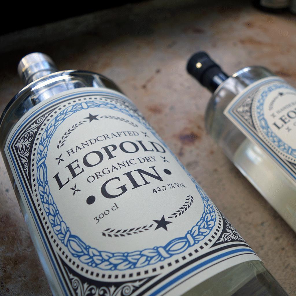 Leopold Dry Gin (500 ml) - Destillerie Farthofer