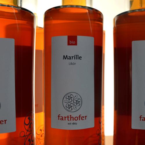 Bio Marillenlikör (700 ml) - Destillerie Farthofer