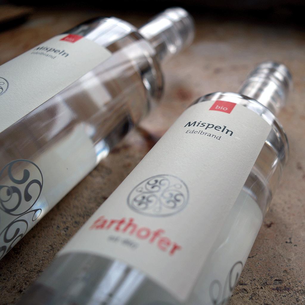 Bio Mispel (700 und 350 ml) - Destillerie Farthofer