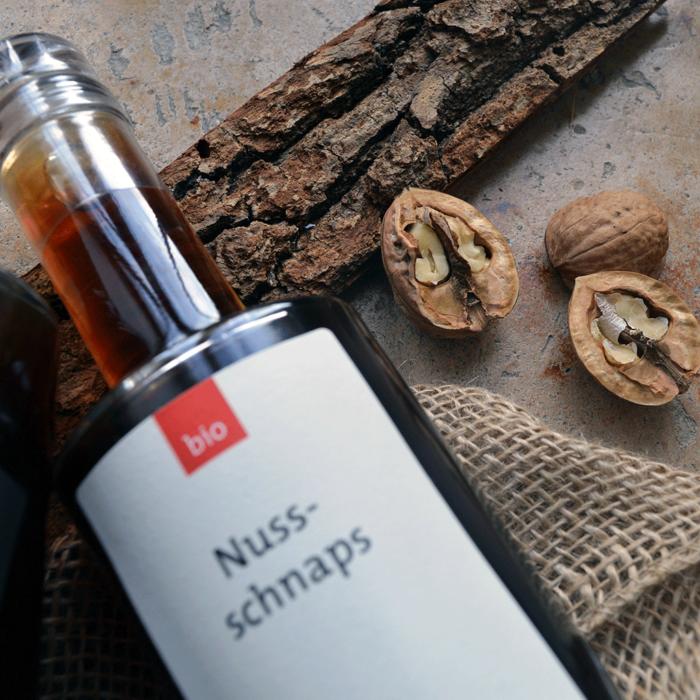 Bio Nussschnaps (350 ml) - Destillerie Farthofer