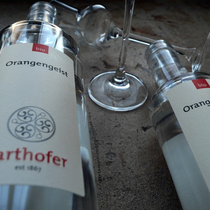 Bio Orangengeist (700 und 350 ml) - Destillerie Farthofer