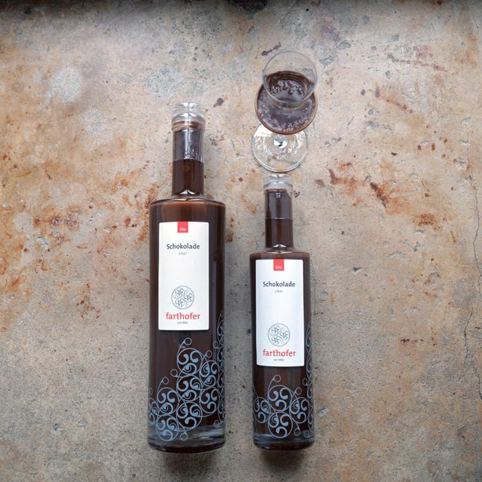 Bio Schokoladenlikör (700 udn 350 ml) - Destillerie Farthofer