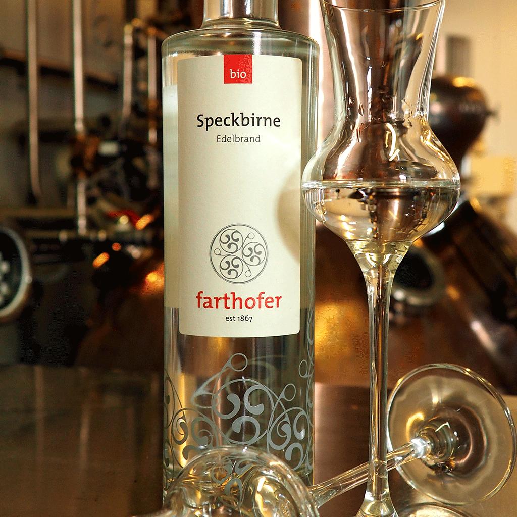 Bio Speckbirne (350 ml) in Brennerei - Destillerie Farthofer