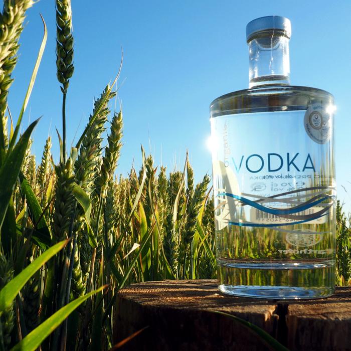 Bio Wodka, O•Vodka, Organic Premium Vodka, Bio Edelbrand