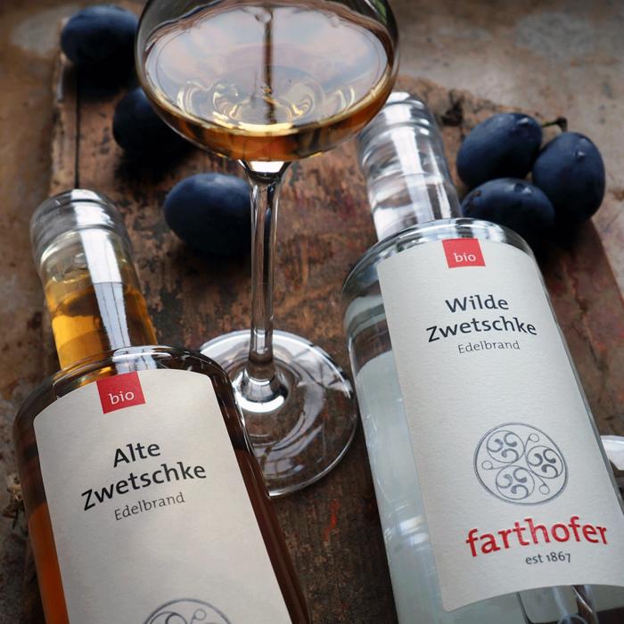 Destillerie Farthofer - Alte und Wilde Zwetschke (350ml)